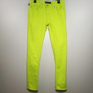 Rock & Republic Berlin Skinny Neon Jeans Size 8